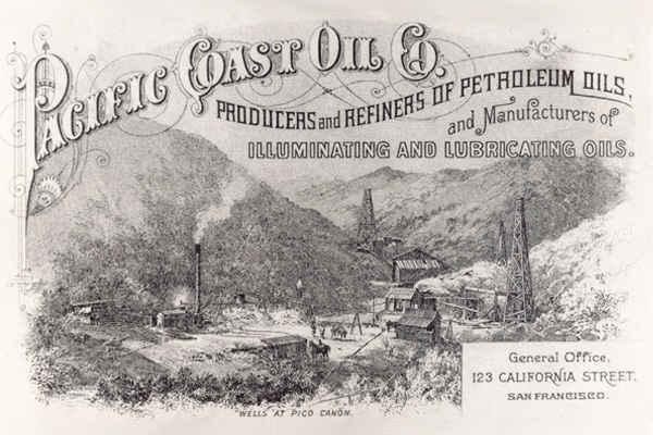 Pacific Coast Oil Co. Logo