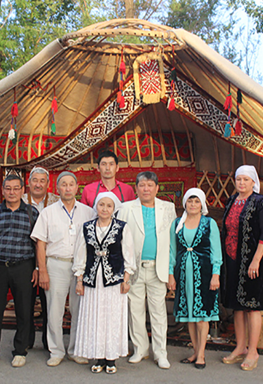 Kazakhstan artisans gathering of artists
